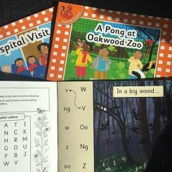 100% decodable phonics readers