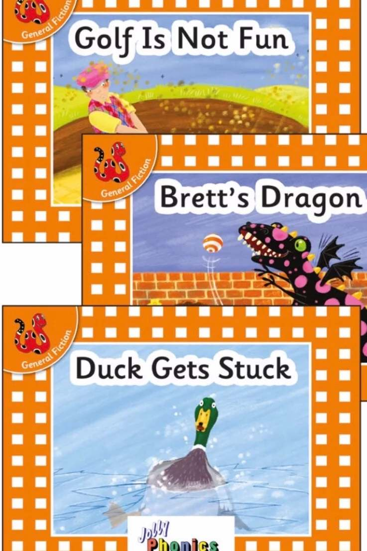 Decodable readers set 3