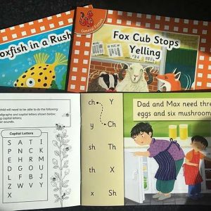 Decodable readers set 6