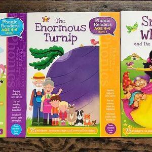 Fairy Tale Phonics sticker books