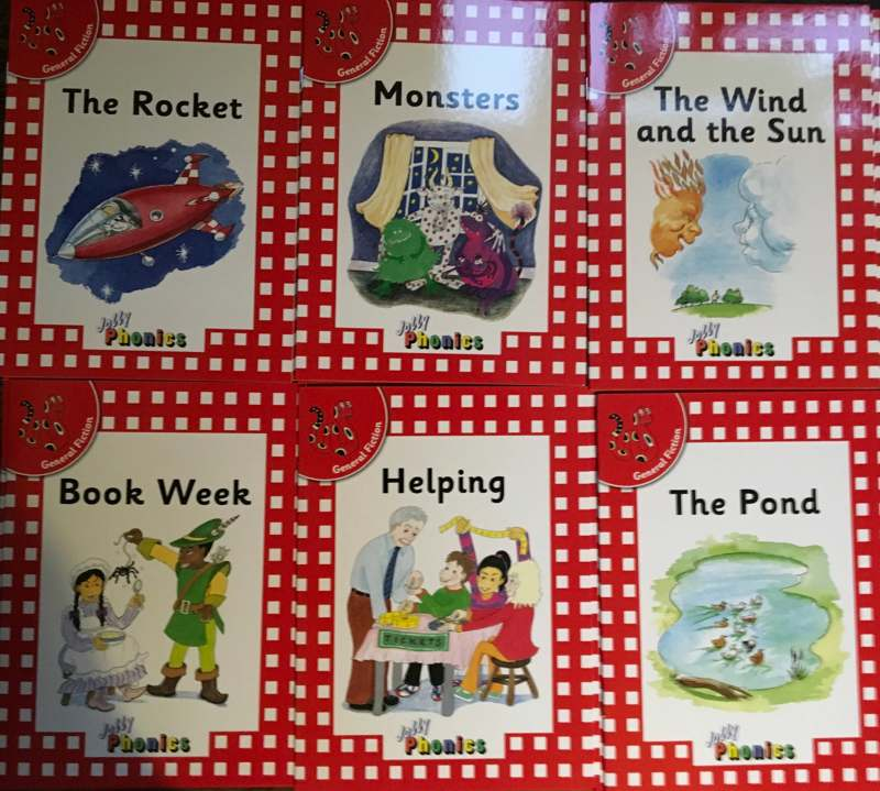 Jolly Phonics first readers book 2 (all six books) - Level 1