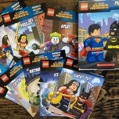 Lego superhero phonics books