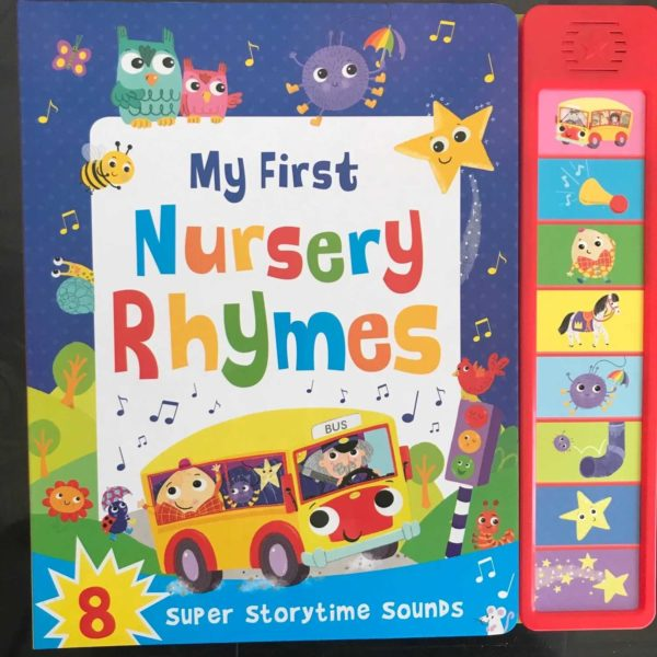My First Nursery Rhymes Book (Phase 1 Phonics)