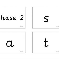 PRE CURSIVE PDF phonics keyring- phases 2-5b with common exception words