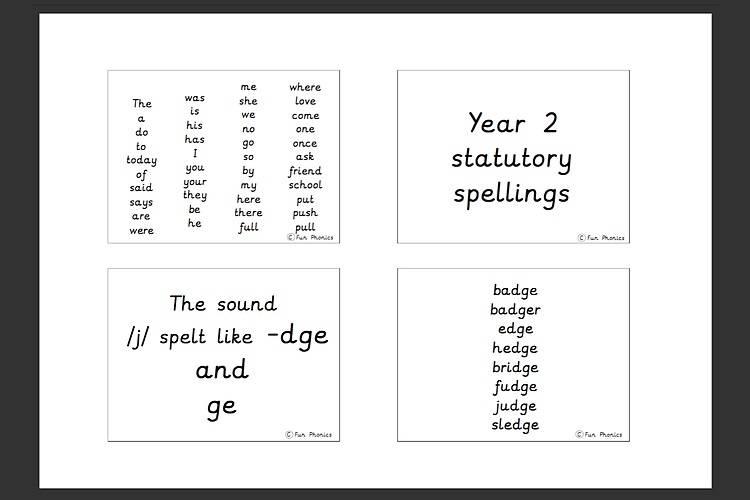 PRE CURSIVE PDF spellings keyring year 1-2 - Gallery 1