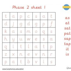 PRE CURSIVE Phase 2 word searches PDF (digital file)
