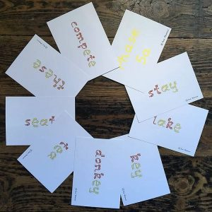 Phase 5 a and B wipe clean flash cards