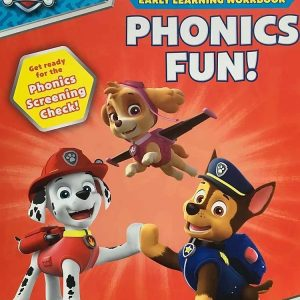 Phonics Fun with Paw Patrol Early learning workbook