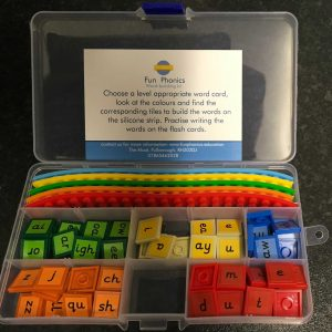 Phonics Word Blending Classroom Pack! All Tiles from Phases 2,3a,3b,5a and 5b
