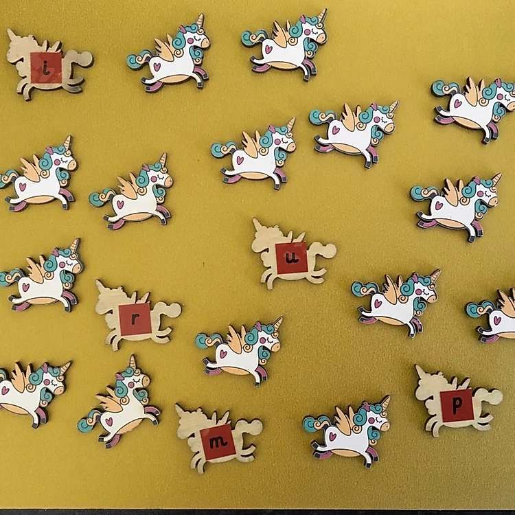 Phonics unicorns (phase 2)