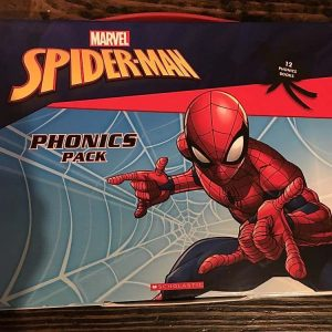 Spider-Man phonics book pack- 12 GREAT BOOKS!