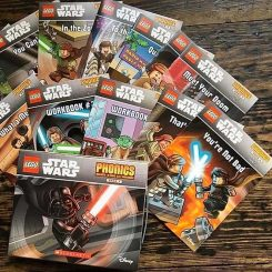 Star Wars phonics books (all ten books)
