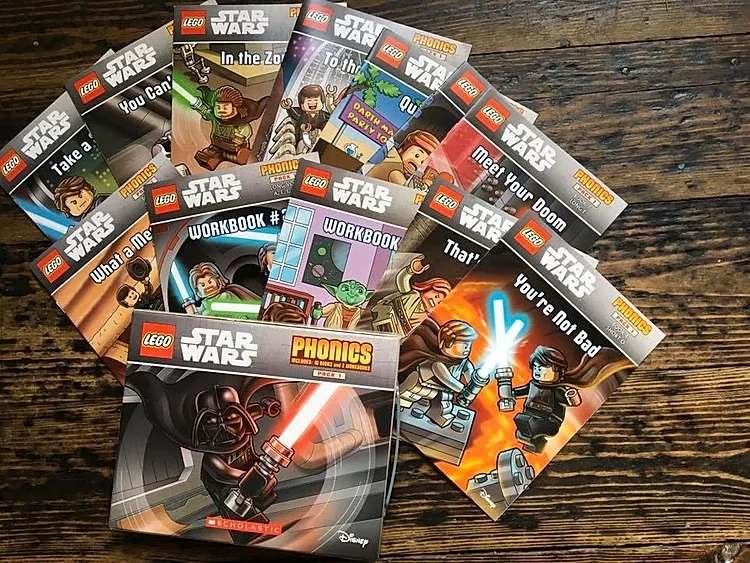 Star Wars phonics books (all ten books)