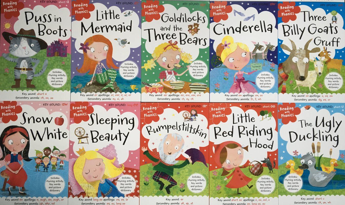 Fairy tale phonics books 20 in the box set