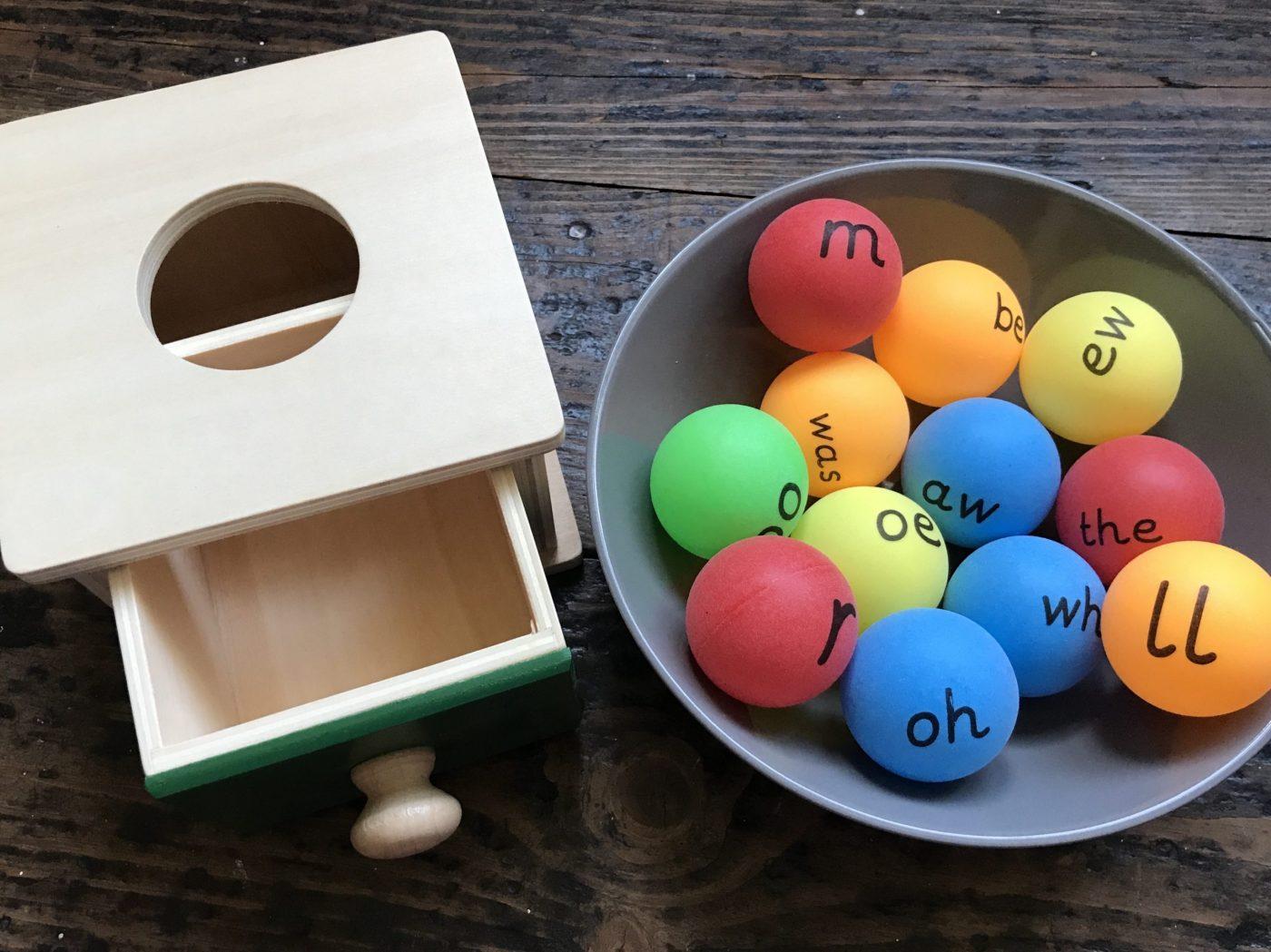 phonic assessment box
