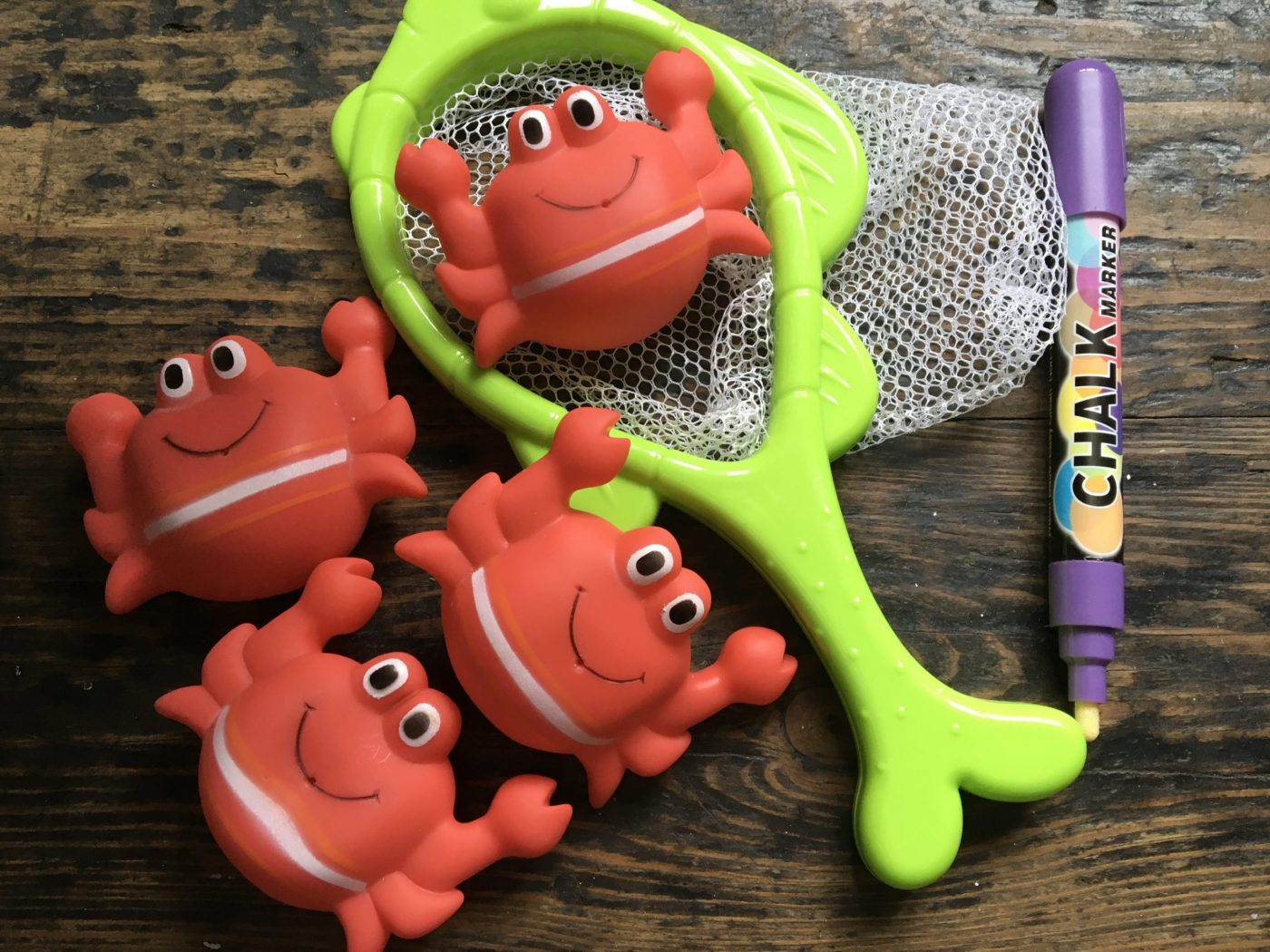 Phonics bath toys For active, play based learning