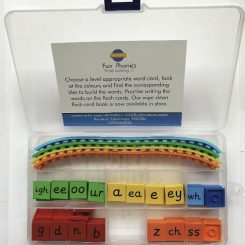 Fun Phonics blending toy, game- letters and sounds phases 2, 3a, 3b, 5a, 5b