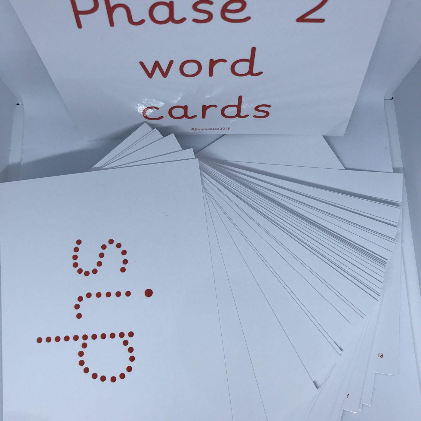 Phase 2 phonic flashcards