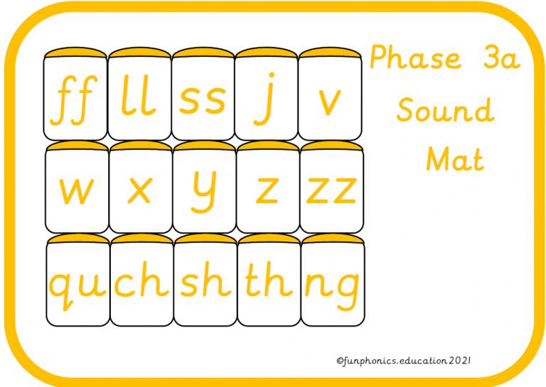 Phase 3a Sound Mat