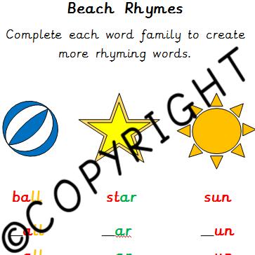 Phase 2-3 Beach Rhymes