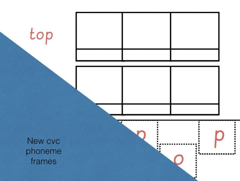Phase 2 phoneme frames
